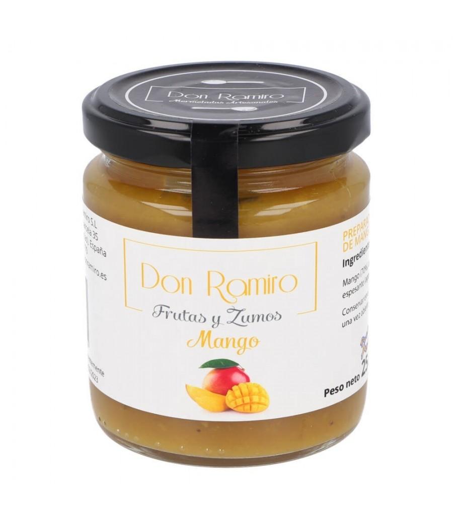 Mermelada de mango extra 250 gr