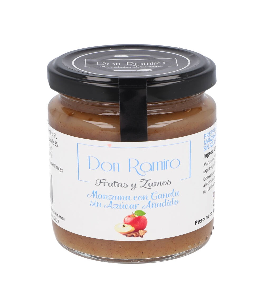 Mermelada de manzana con canela sin azúcar 250 g