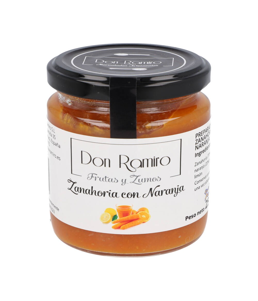 Mermelada de zanahoria con naranja 250 gr